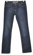 Topshop Indigo, Dark wash Mid L32 Jeans for Women