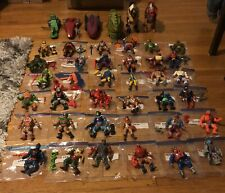 MOTU Masters Of The Universe Lot - 42 He-Man Figures w Accessories  / Vehicles