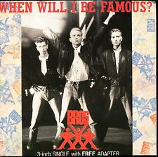 BROS - WHEN WILL I BE FAMOUS ? - 3 INCH 8 CM CARDBOARD SLEEVE CD MAXI