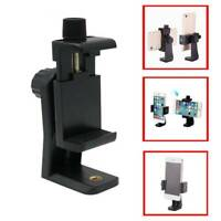 Smartphone Tripod Adapter Cell Phone Holder Mount For Camera iPhone Universal UK