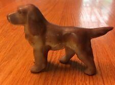 Viintage Porcelain Dog Figurine Made In Japan