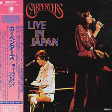 Live in Japan by Carpenters (2-CD Set) A&M Records