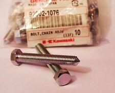 Kawasaki NOS H1 S1 S2 S3 Z1 F G KE KZ  BOLTS Chain adjust Genuine (2pcs)