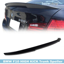 Unpainted BMW F10 HIGH KICK P Performance Type Rear Trunk Spoiler 520d 523i ◎