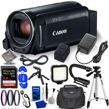 Canon VIXIA HF R800 Camcorder (Black) + 64GB LED Light Bundle AUTHORIZED DEALER