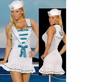 NEW WOMENS LADIES SEXY DELUXE SAILOR COSTUME HEN DOO FANCY DRESS PARTY OUTFIT