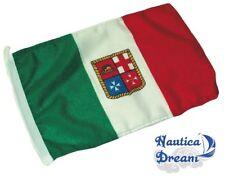 BANDIERA ITALIA RESISTENTE TESSUTO STAMIGNA POLIESTERE MARINARE NAUTICA 70X100