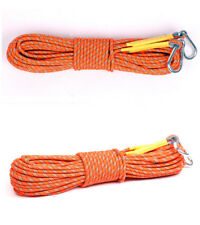 8mm Climbing Rope Safety Rescue Escape Rappelling Hiking Camping Tent Ropes 30m