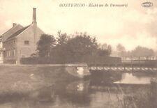 Reproduction photo d'une carte postale de la brasserie de Oosterloo