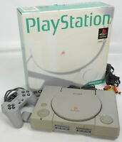 PS Playstation Console System Boxed SCPH-5000 SONY Ref A8796690 Tested JAPAN