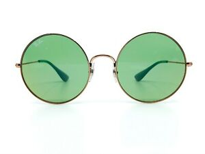 Ray Ban RB3592 9035/C7 Rose Gold/Green Sunglasses New Authentic 55