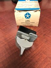 NOS Mopar 1969 1970 1971 C-Body Windshield Wiper / Washer Switch 2932872