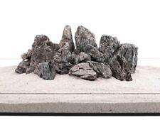 Aquarium Natursteine Mini Landschaft Seiryu Steine grau 18 bis 20Kg Größe M-XXL