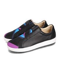 Royal Elastics Bishop Bolt 1902 Black Blue Purple Men Slip On Shoes 01791-956