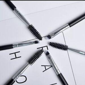 2Pcs Shaping Duo Make up #12 Brush Angled Eye Brow &Makeup Brushes Uk🇬🇧 Seller