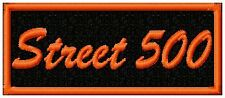 STREET 500  BIKER PATCH
