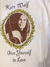 Kate Wolf 1996 retrospective tank top T-shirt