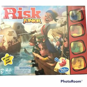 Risk Junior Game Intro to the Classic Board Game for Kids Ages 5 and Up