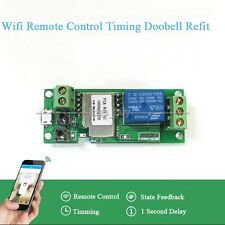 5V 12V Sonoff WiFi Wireless Switch Relay Module F Smart Home Apple Android Phone