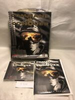 COMMAND & CONQUER 90s Big Box PC VIDEO GAME CD-Rom Westwood 1995 CIB Complete