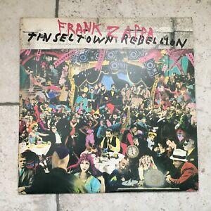 Frank Zappa _ Tinsel Town Rebellion _ 2 X LP 33 giri _1981 CBS Italy dischi mint