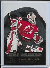 16-17 Flair Showcase Martin Brodeur Hot Gloves # HG5