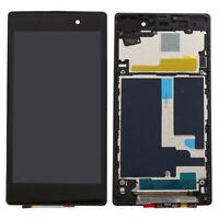 Pour SONY Xperia Z1 L39 L39H C6902 C6903 Assemblée écran tactile LCD + cadre RU