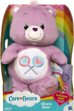 "Hasbro 2012 Care Bears Share Bear 12"" Includes DVD"