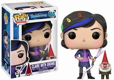Funko Pop Trollhunters 468 Claire with Gnome