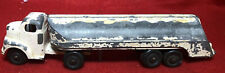 TANKER  Truck and Tanker White DieCast Antique