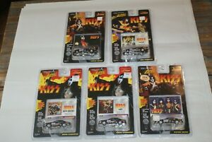 KISS Lot of 5 1997 Johnny Lightning Funny Cars and Stock Car Bodies