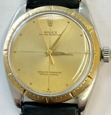 Nice Rolex Oyster Perpetual Stainless Steel Case With 14K Bezel