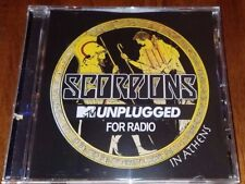 Scorpions MTV unplugged for radio CD in Athens moonlight no one like Hurricane