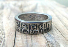Coin ring Spain - 25 centavo 1937 - Spain jewelry - Espana - Handmade Jewelry