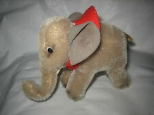 "Vintage Steiff small Elephant 4"" Inches Tall No Ids But Nice"