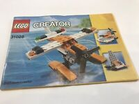 LEGO CREATOR 3 IN 1 SEA PLANE 31028 INSTRUCTIONS ONLY! 1 BOOK MANUAL