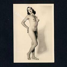 #386 RÖSSLER AKTFOTO / NUDE WOMAN STUDY * Vintage 1950s Studio Photo - no PC !