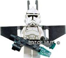 LEGO STAR WARS CLONE TROOPER EP.3 FIGURE + JET PACK + BLASTER - 7261 - 2005  NEW