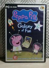 Peppa Pig-Galaxy Spaß-PC CD-ROM-APS-NEU/Versiegelt-Gratis UK Versand
