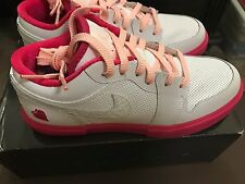 NEW Air Jordan Retro V.1 GS 5.5Y or Womens 7 BNIB white/storm pink BNIB NIKE