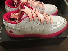 NEW Air Jordan Retro V.1 GS 5.5Y or Womens 7 BNIB white/storm pink BNIB NIKE
