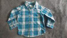 Carter's Toddler Boy Long Sleeve Button Up Shirt Size 24 months