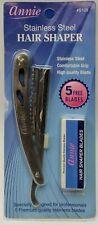 Annie Stainless Steel Hair Shaper #5109 w/ 5 Blades