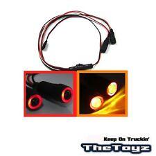 1/10 1/16 1/18 RC Car Angel Halo Eyes & LED Headlight Lights TOYZ 701 Red Orange