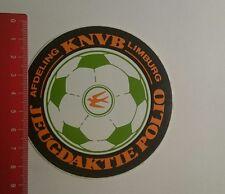 Aufkleber/Sticker: KNVB afd Limburg Jeugdaktie Polio (261216106)