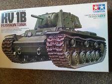 Tamaya 1/35 MM No,142, KV-1B RUSSIAN TANK( MODEL 1940  W/APPLIQUE ARMOUR)