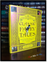 Annotated Fairy Tales Andersen Grimm New Illustrated Collectible Gift Hardcover