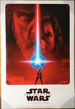 STAR WARS THE LAST JEDI MOVIE POSTER 2 Sided ORIGINAL Ver B 27x40 EPISODE VIII