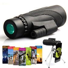 40x60 Monocular Telescope Waterproof Travel Smartphone Spotting Scope Welcome