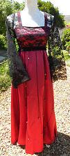 Full Length Party Long Sleeve Dresses Handmade